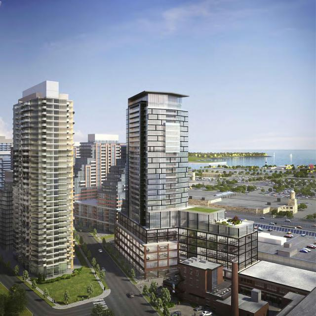 Liberty Market Tower, Wallman Architects, Lifetime Developments, Toronto