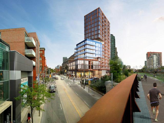 1181 Queen West, Quadrangle, Goldsmith Boreal & Company SKALE Development
