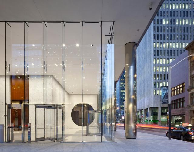 Two Circles, Micah Lexier, Bay Adelaide Centre, Toronto, Brookfield Properties