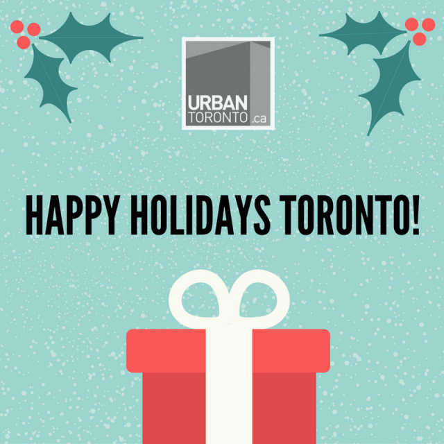 Happy Holidays from UrbanToronto