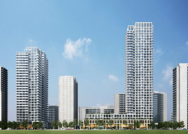 High Park Village, Toronto, by GWL Realty Advisors, Zeidler Architects