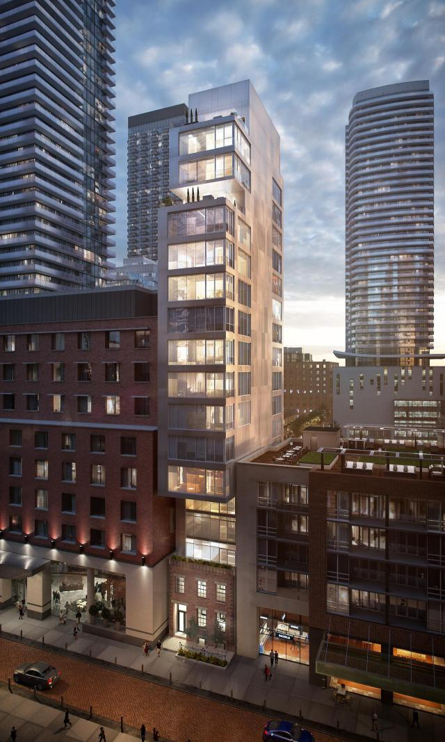 24 Mercer, Scott Shields Architects, Toronto