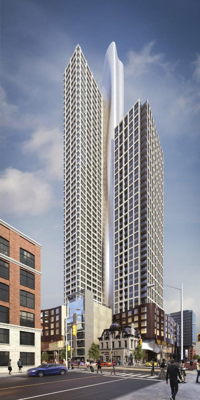 350 Adelaide West, BBB Architects, Graywood Developments, Toronto