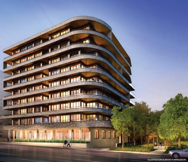 The Davies, SMV Architects, Brandy Lane Homes, Toronto