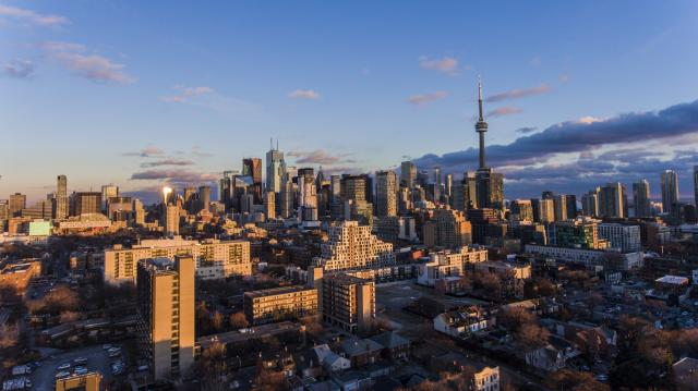 Photo of the Day, Toronto, skyline, Alexandra Park
