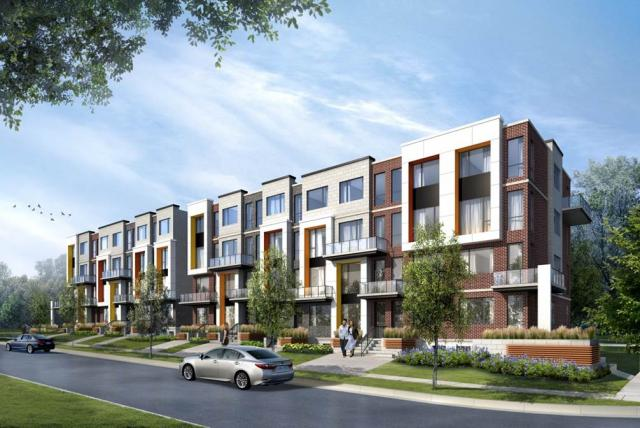 Stafford Homes, Turner Fleischer Architects, Toronto, Downsview Park Townhomes