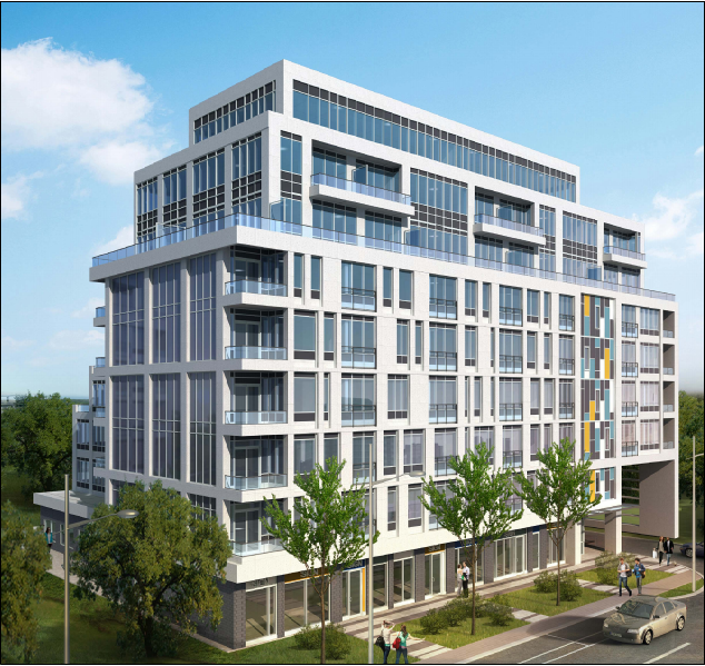 740-748 Sheppard West, Royal Lane Sheppard North, Kirkor Architects, Toronto