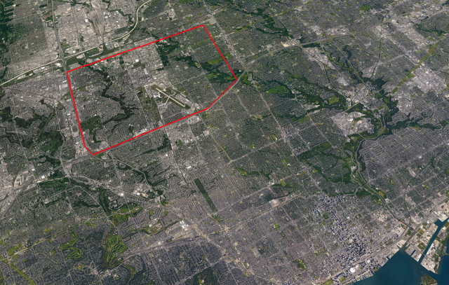 Growth to Watch For, Downsview, North York, Toronto, York University