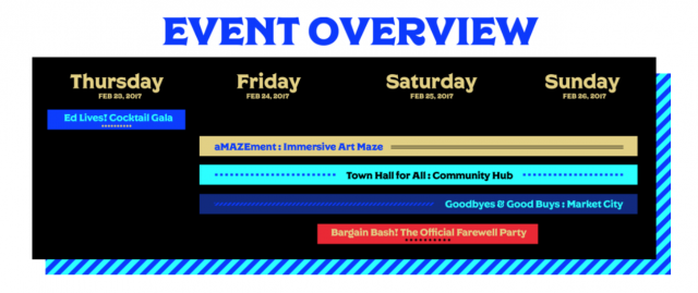 The event overview, image via TO4E