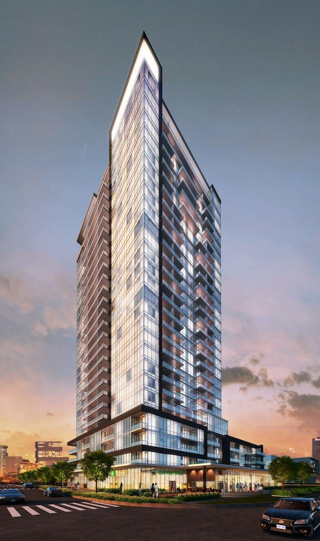 The Academy Condos, Kirkor Architects + Planners, LeMine Investments