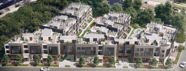 Opal Urban Towns, AJ Tregebov Architects, Time Development Group, Toronto