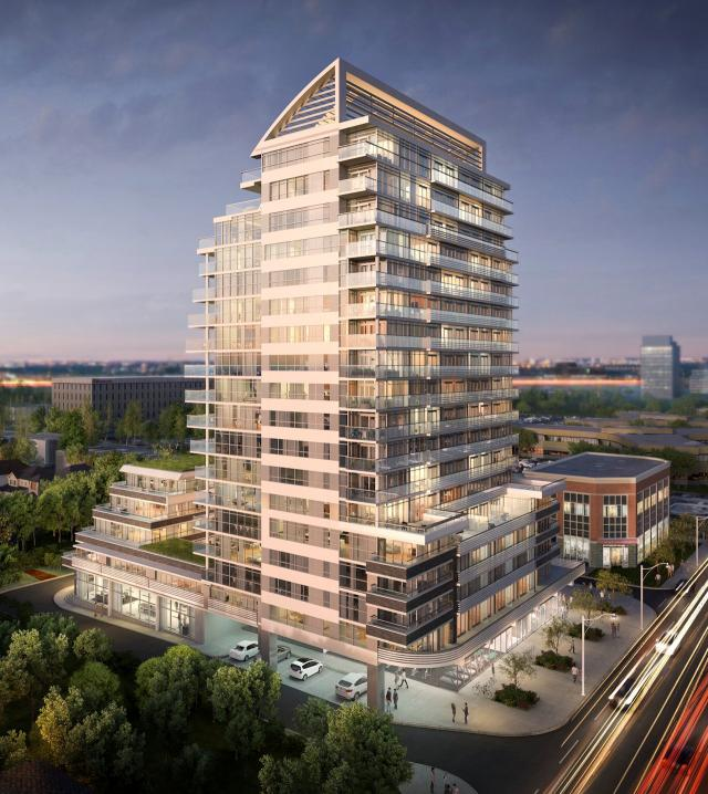 Sail Condominums, Opearl Development, Keith Loffler McAlpine Architects, Toronto