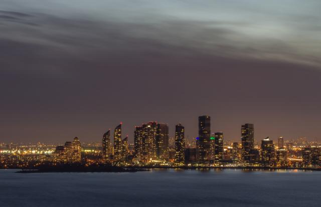 Photo of the Day, Toronto, Humber Bay Shores skyline