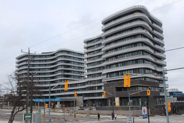 Flaire Condos, Giannone Petricone, Fram Building Group, Cadillac Fairview