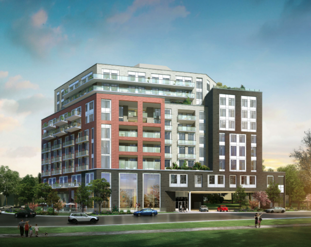 905 Don Mills retirement residence, Kirkor Architects, DCMS Realty Development