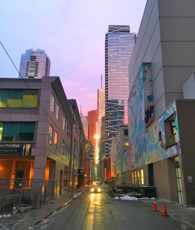 Photo of the Day, Toronto, Pearl Street, Financial District