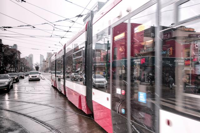 Photo of the Day, Toronto, Spadina, streetcar, TTC