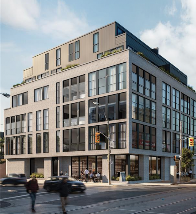 The 1001 Queen East, Toronto, image courtesy of 33 Developments