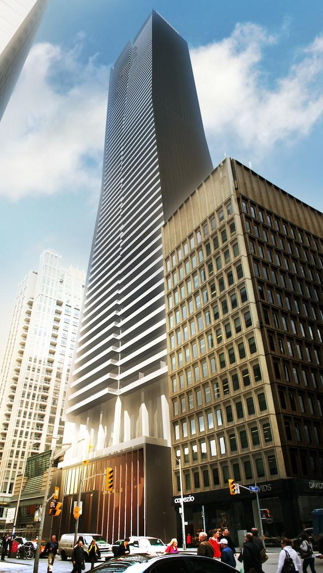 80 Bloor Street West, architectsAlliance, Krugurand Corporation, Toronto