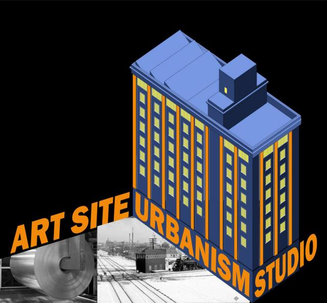 Poster image for ART SITE URBANISM EXHIBITION, by Sebastien Beauregard + Richard