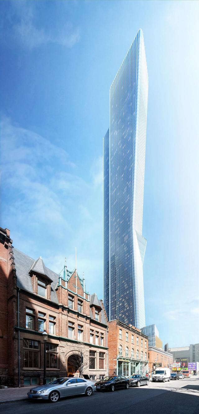 YSL Residences at 385 Yonge, Toronto by Cresford Developments, Kohn Pederson Fox