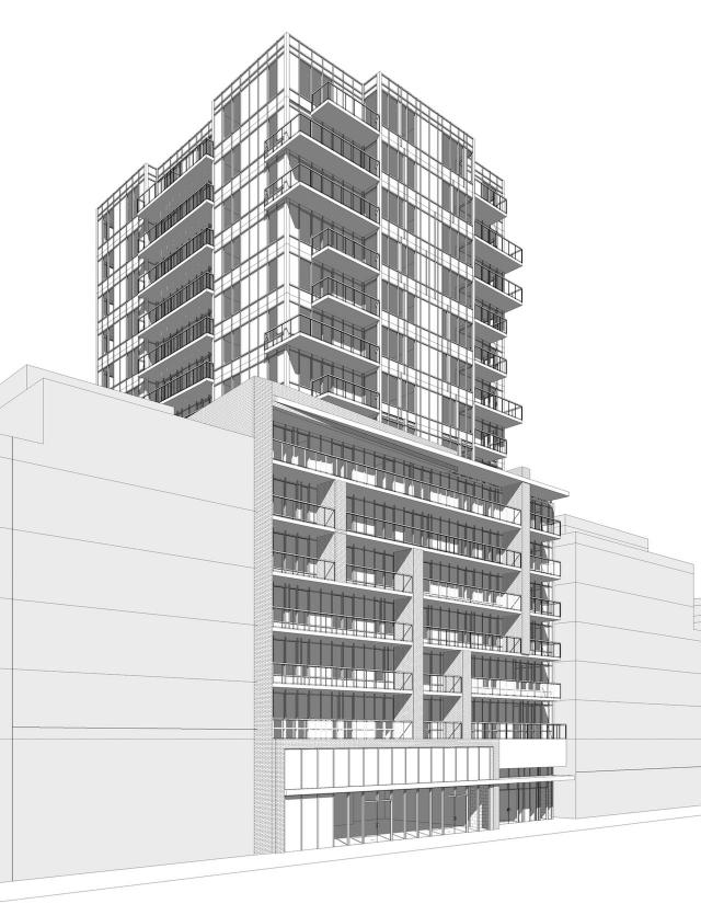 346 Eglinton West, Terranata Development, Rafael + Bigauskas Architects, Toronto