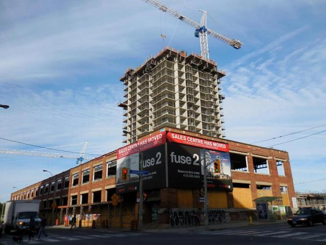 Fuse and Fuse2, Toronto, by Neudorfer, Barrett Architect, Burka Architects