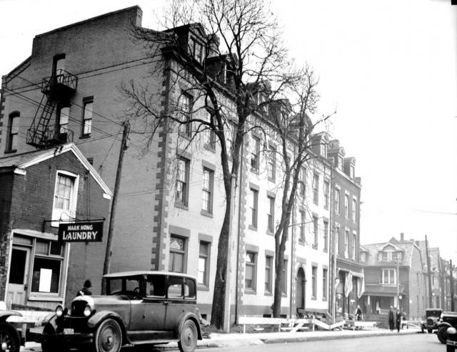 Walnut Hall in 1932, image via City of Toronto Archives