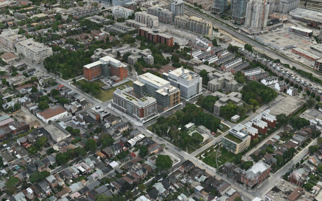Queen Street CAMH, Stantec Architecture Inc, Plenary Group, PCL Investments
