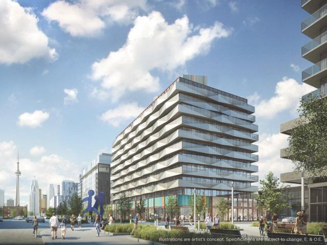 Canary District, Block 16, DundeeKilmer, KPMB Architects, Toronto