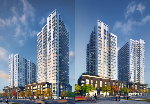 Kip District, Toronto, by Concert Properties, Quadrangle Architects