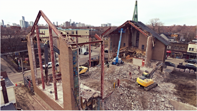 Development for 875 Queen East, Toronto, image by Forum contributor Jasonzed