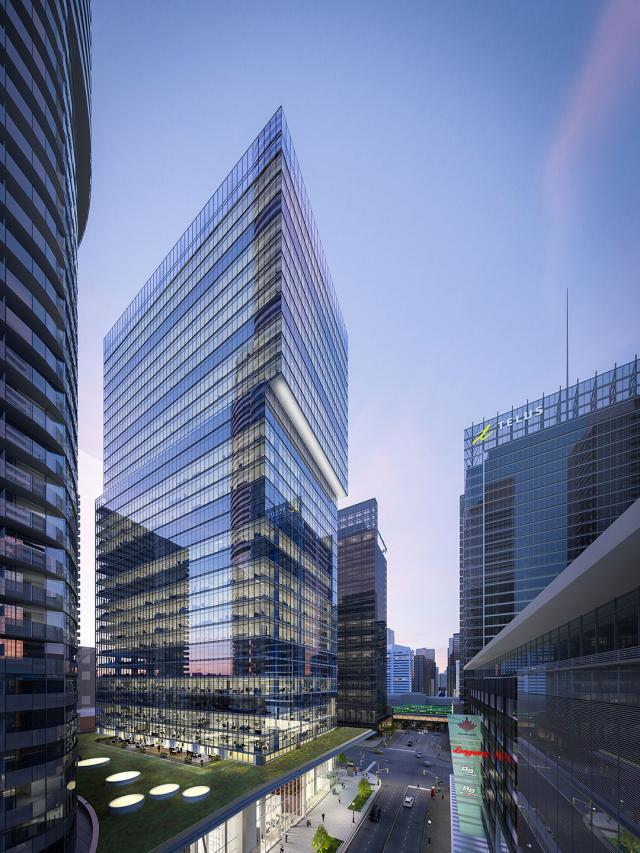 16 York Street, Toronto, by Cadillac Fairview, architectsAlliance, B+H