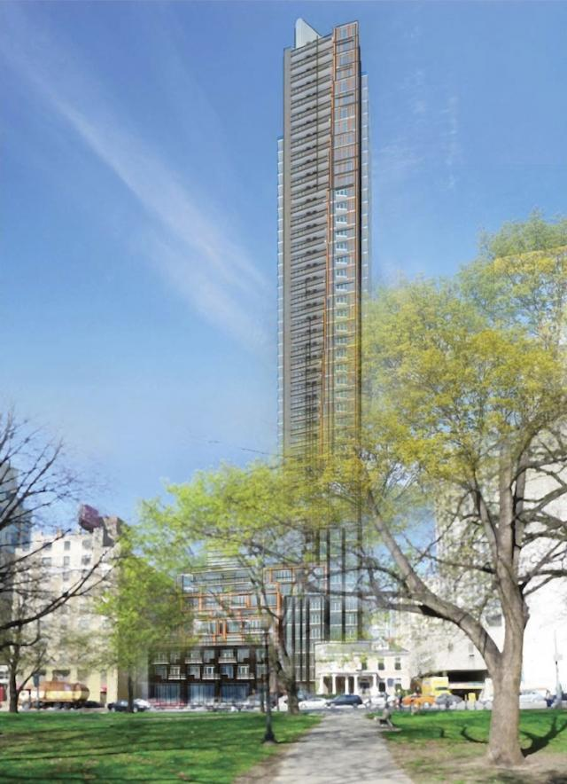 308-314 Jarvis Street, Quadrangle Architects, for Duration Investments, Toronto