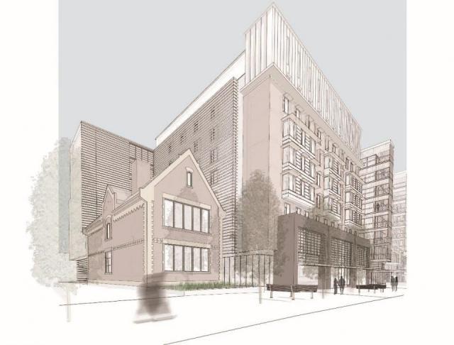 Seaton House, Montgomery Sisam, Goldsmith Borgal & Company, Hilditch Architects