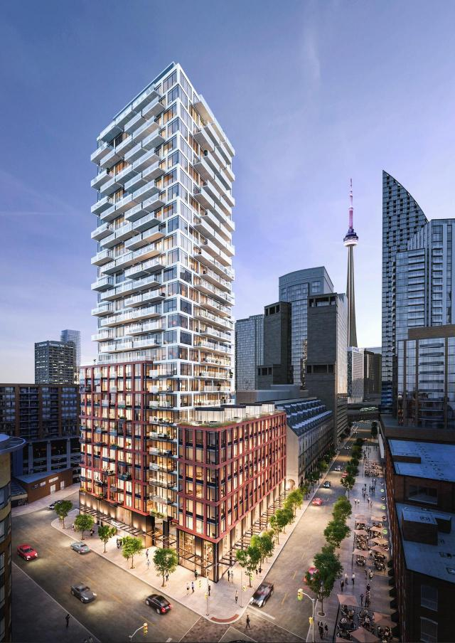 75 On The Esplanade, Harhay Developments, Carttera Private Equities, Toronto