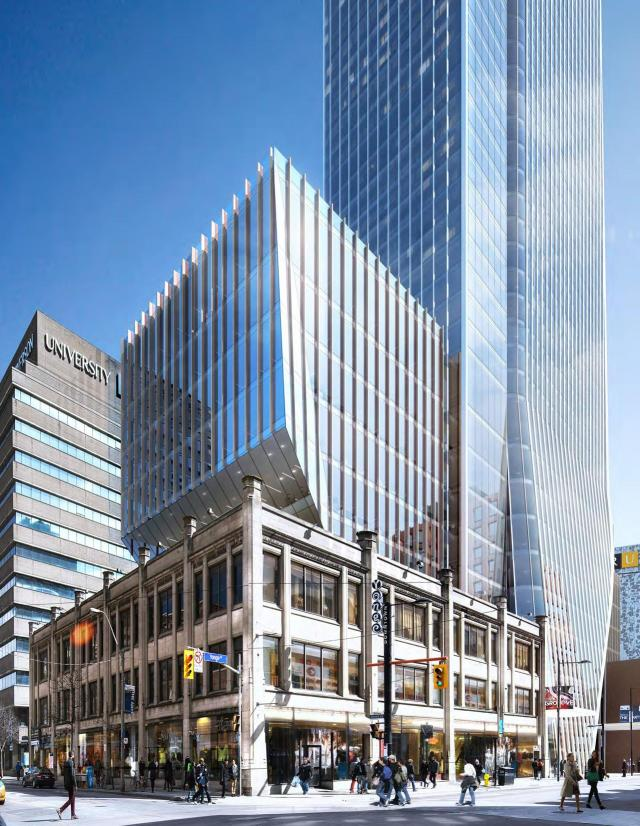 YSL - 385 Yonge, Toronto, by Cresford, Kohn Pedersen Fox, architectsAlliance