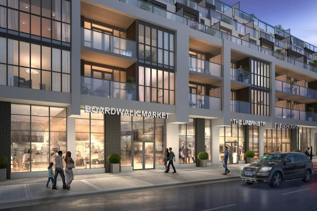 WestBeach Condominiums, Marlin Spring, Graziani + Corazza Architects, Toronto