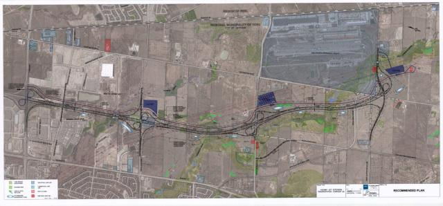 Highway 427 extension design