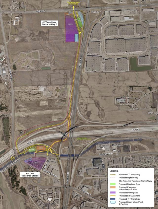 427 Transitway (Hwy 7 to Albion) Preferred Alternative Design