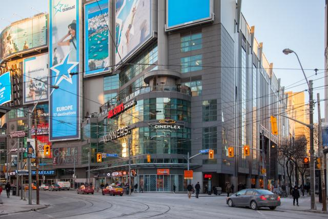 Throwback Thursday, 10 Dundas East, Yonge Dundas Square, Toronto