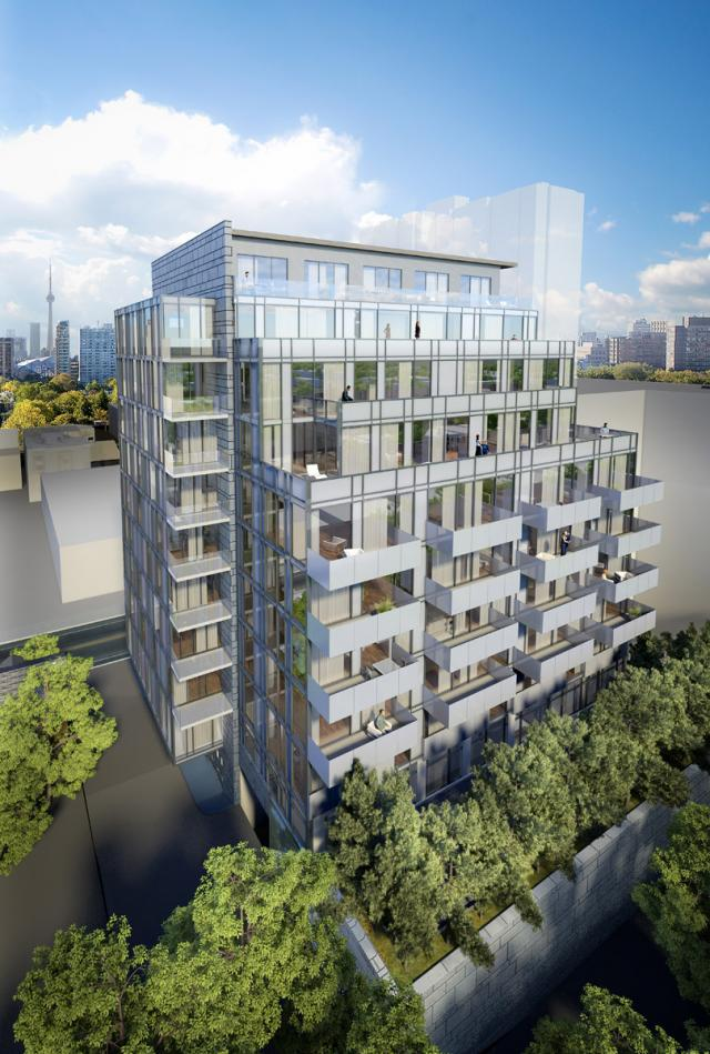 The Perry Condos, Toronto, Young + Wright / IBI Group, Mansouri Living