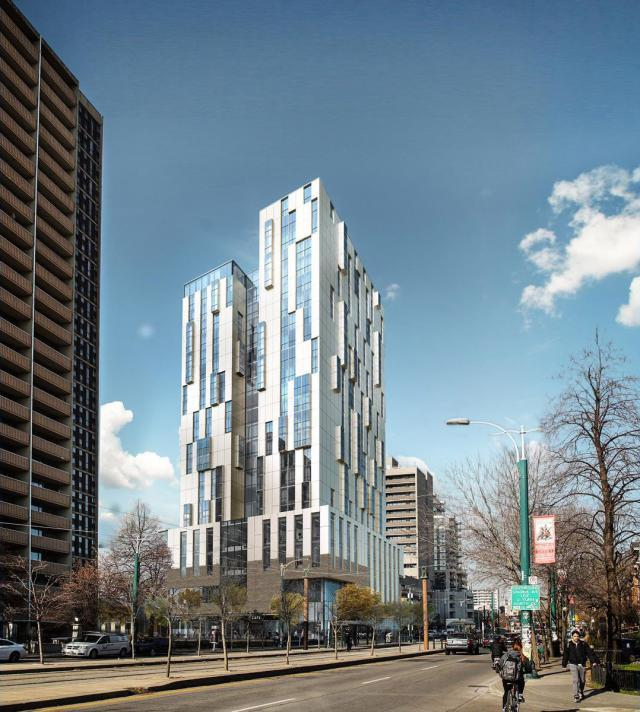 Spadina and Sussex Mixed Use Residence, Diamond Schmitt, The Daniels Corporation