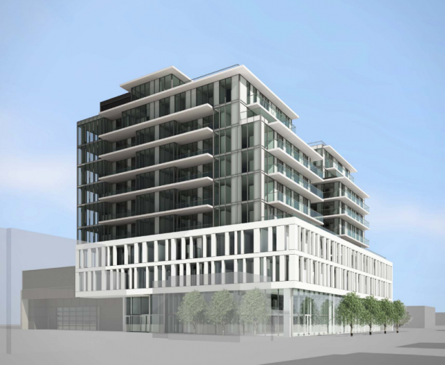 500 Dupont, Toronto, by Lifetime Developments, Rosewater, Core Architects