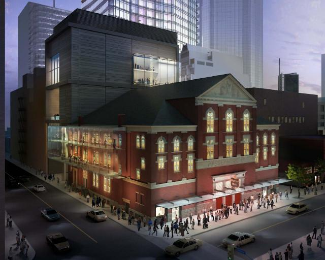 Massey Hall Revitalization, KPMB Architects, MH-RTH Corporation, Toronto