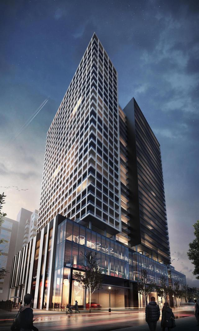 Panda Condominiums, Lifetime Developments, architectsAlliance, Toronto