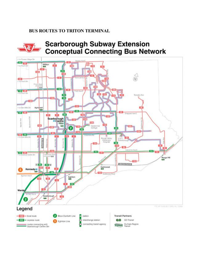 Extension of TTC Line 2 subway to Scarborough Centre