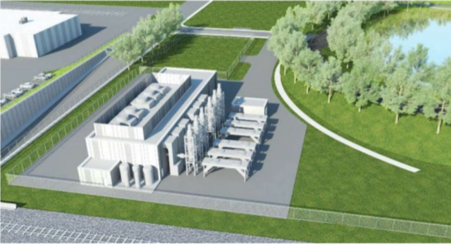 Mount Dennis power plant for Crosstown LRT