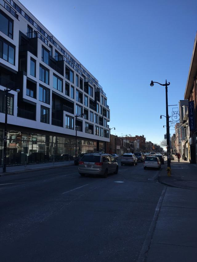 Looking west on Dundas in the Junction, image by UT Forum contributor ADRM