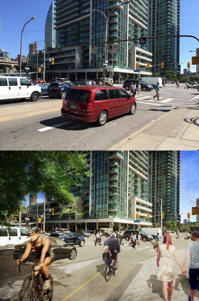 Lower Simcoe Ramp and New Park, Toronto, by City of Toronto, DTAH